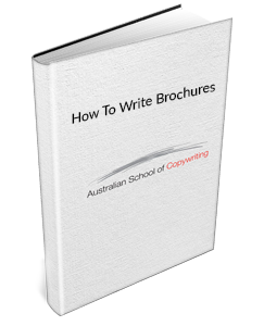 How To Write Brochures